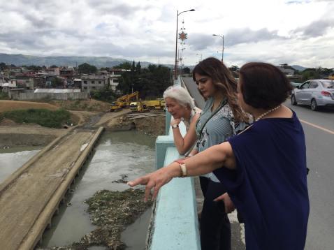 Visit of Brandon West MP Kamal Khera to Barangay Tumana, Marikina City with Dr. Emma Porio and Ms. Lisa Cabahug
